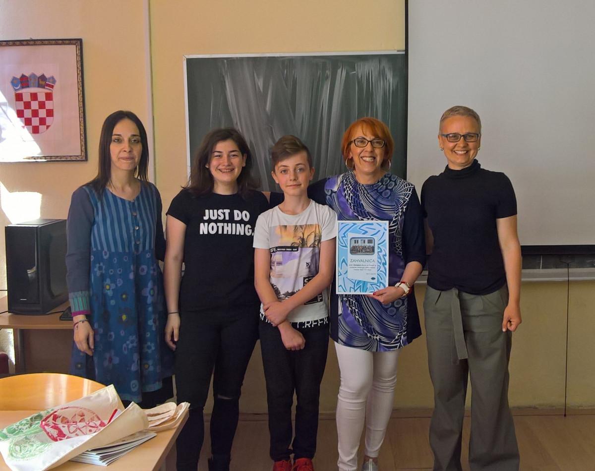 Optiplast za djecu osnovne škole Viktorovac